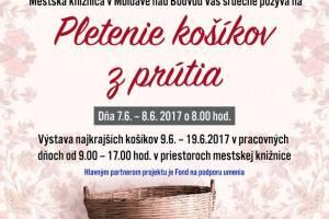 Fond na podporu umenia 2017 - Tvorivé dielne s tradičnými moldavskými remeslami